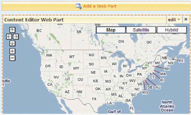 bing map virtual earth gallery