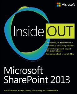 SharePoint 2013 Inside Out Cover