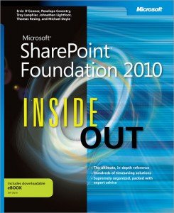 SharePoint Foundation 2010 Inside Out Cover