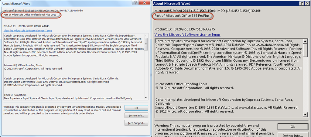 Office 365 ProPlus, Click-to-run and Add-ins – Tom Resing's