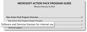 Action Pack Program Guide