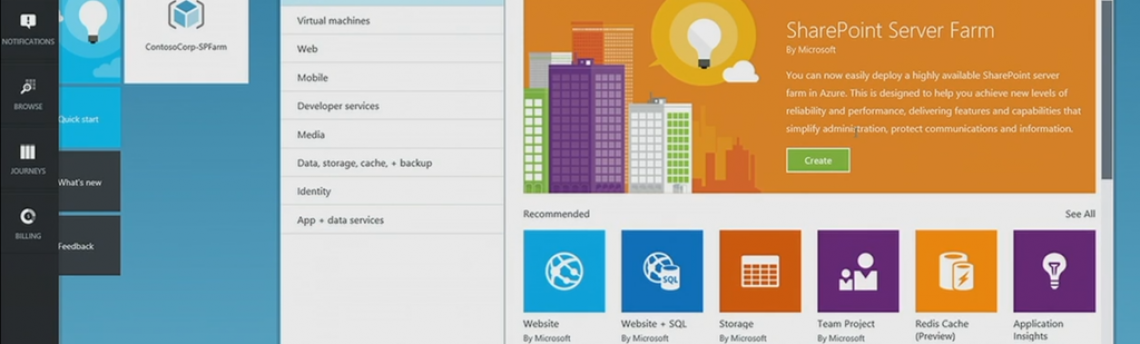The New Azure SharePoint Farm Option
