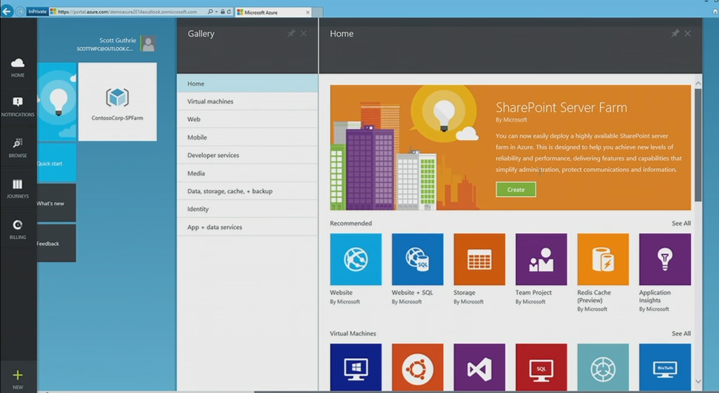 The new azure sharepoint farm option tom resing 39 s for Sharepoint responsive template