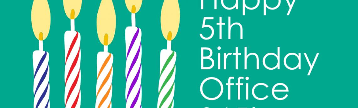 Happy 5th Birthday, Office 365!