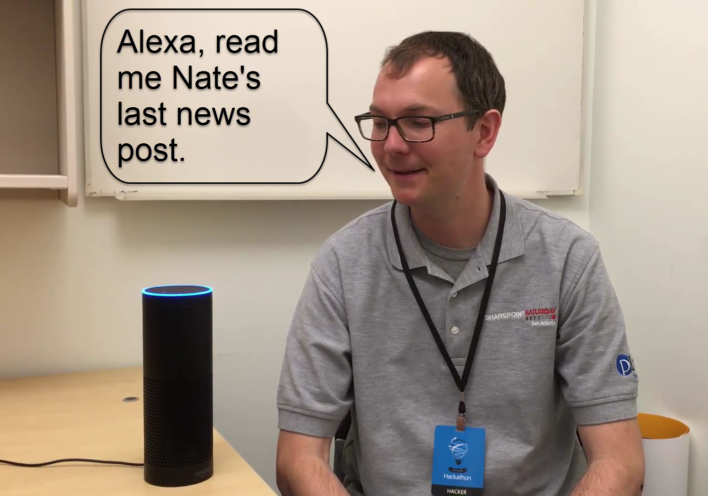 A Conversation with Alexa about SharePoint – Tom Resing's