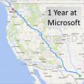 1 Year at Microsoft!