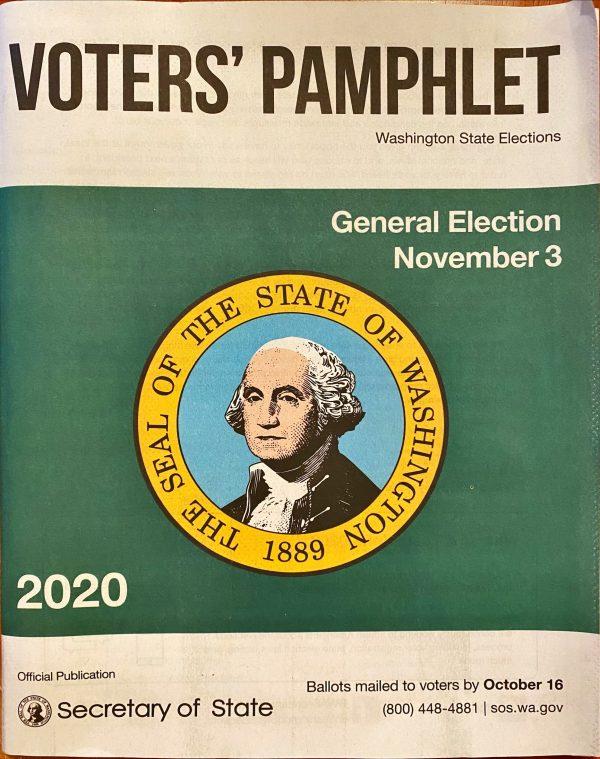 Washington state voter's paphlet