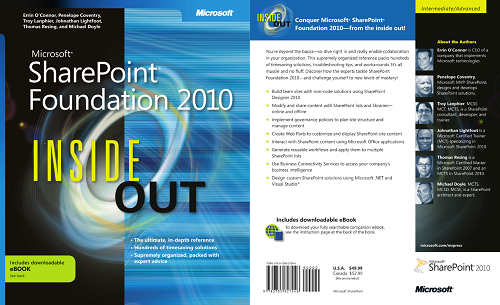 View Amazon.com Sharepoint Foundation Inside Out Details Page